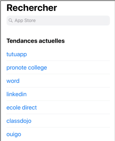 TutuApp hits the top of the French iOS App Store's search